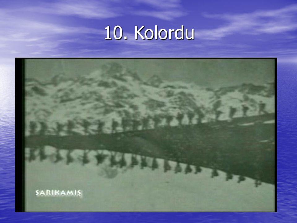 10. Kolordu