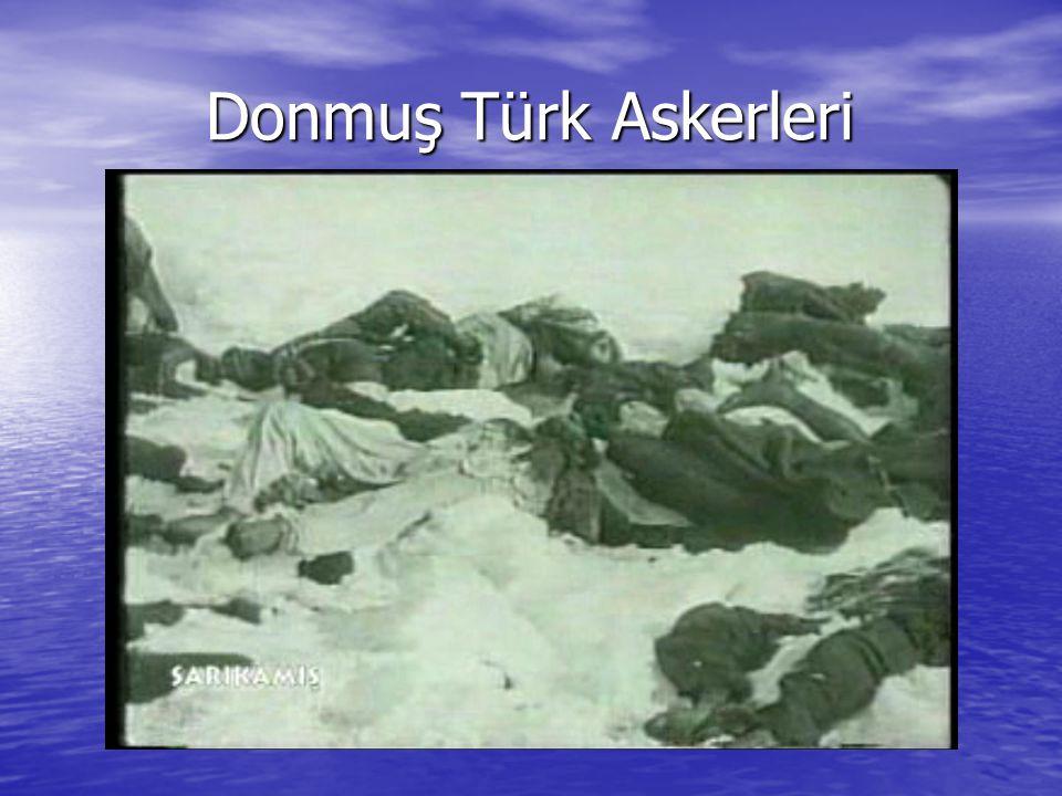 Donmuş Türk Askerleri