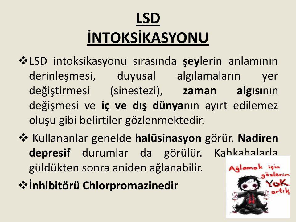LSD İNTOKSİKASYONU