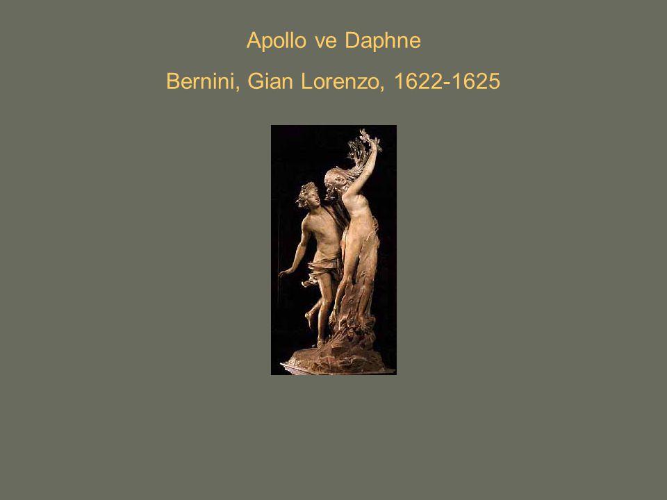 Apollo ve Daphne Bernini, Gian Lorenzo, 1622-1625