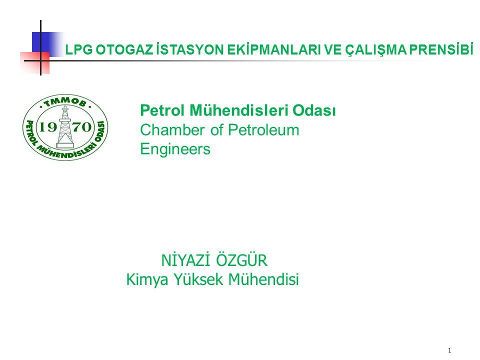Petrol Mühendisleri Odası Chamber of Petroleum Engineers