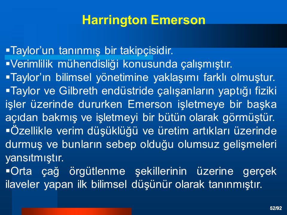 Harrington Emerson Taylor'un tanınmış bir takipçisidir.