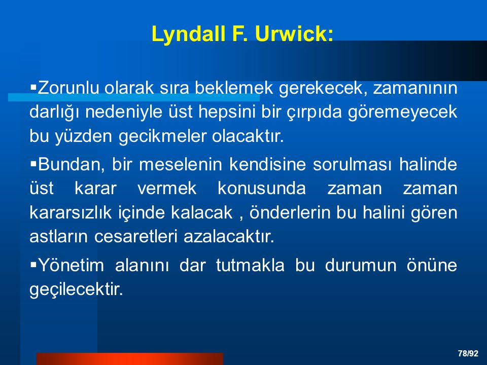 Lyndall F. Urwick: