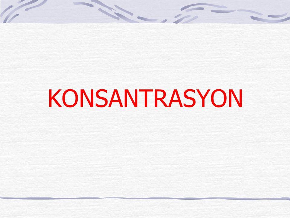 KONSANTRASYON