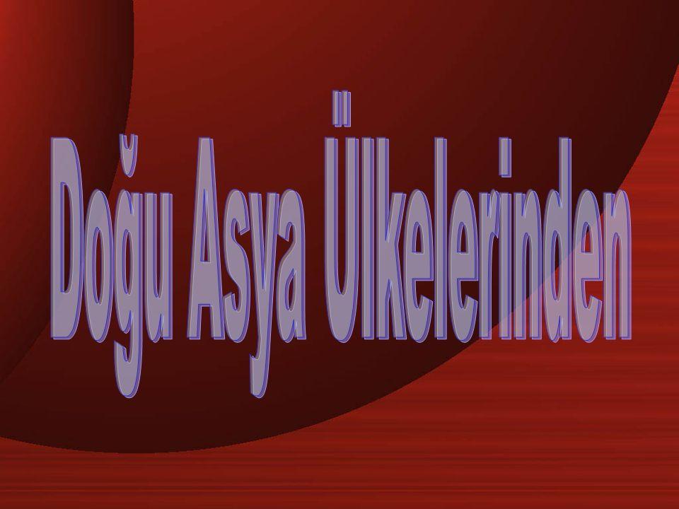 Doğu Asya Ülkelerinden