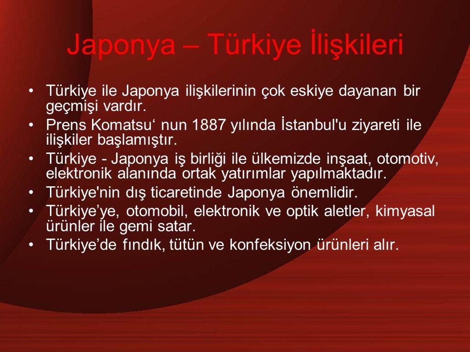 Japonya – Türkiye İlişkileri