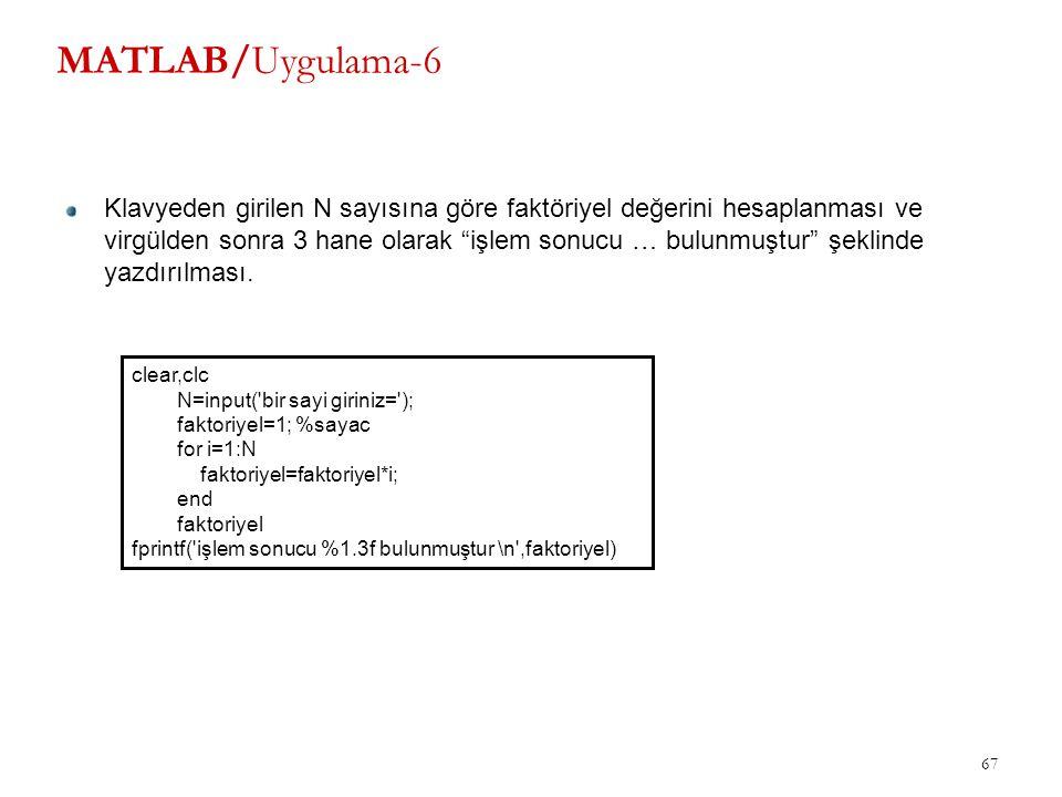 MATLAB/Uygulama-6