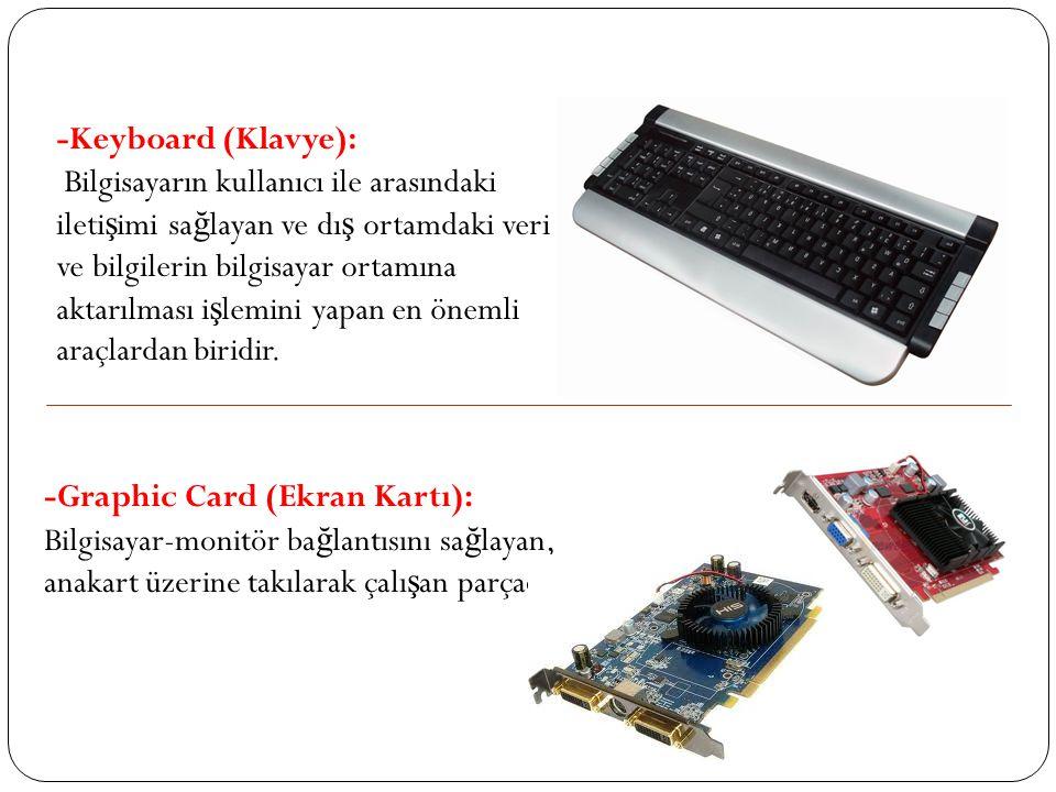 -Keyboard (Klavye):