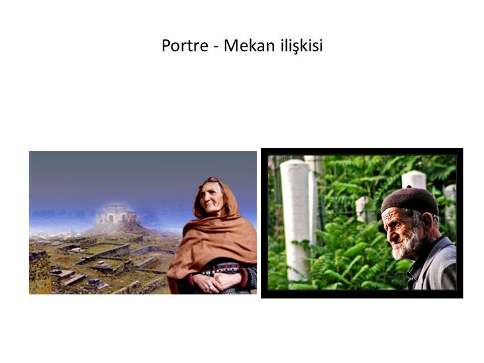 Portre - Mekan ilişkisi