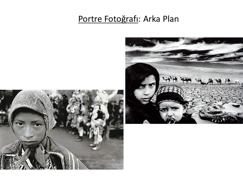 Portre Fotoğrafı: Arka Plan