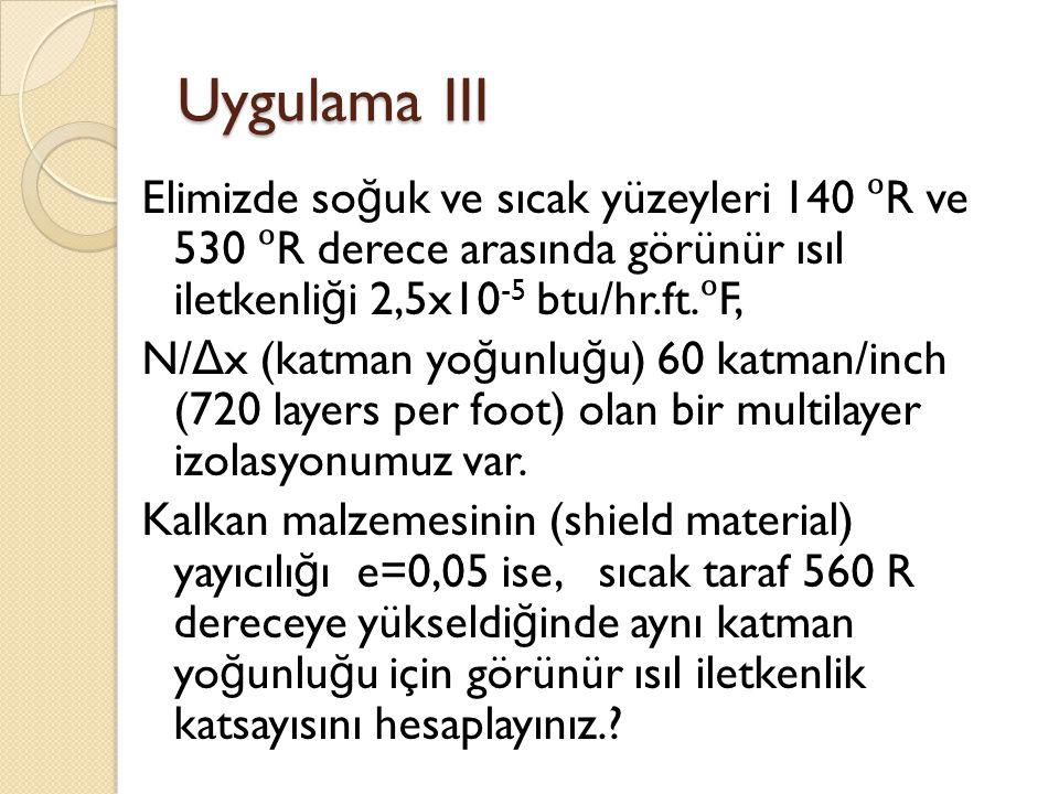 Uygulama III