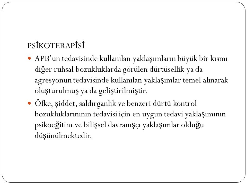 PSİKOTERAPİSİ