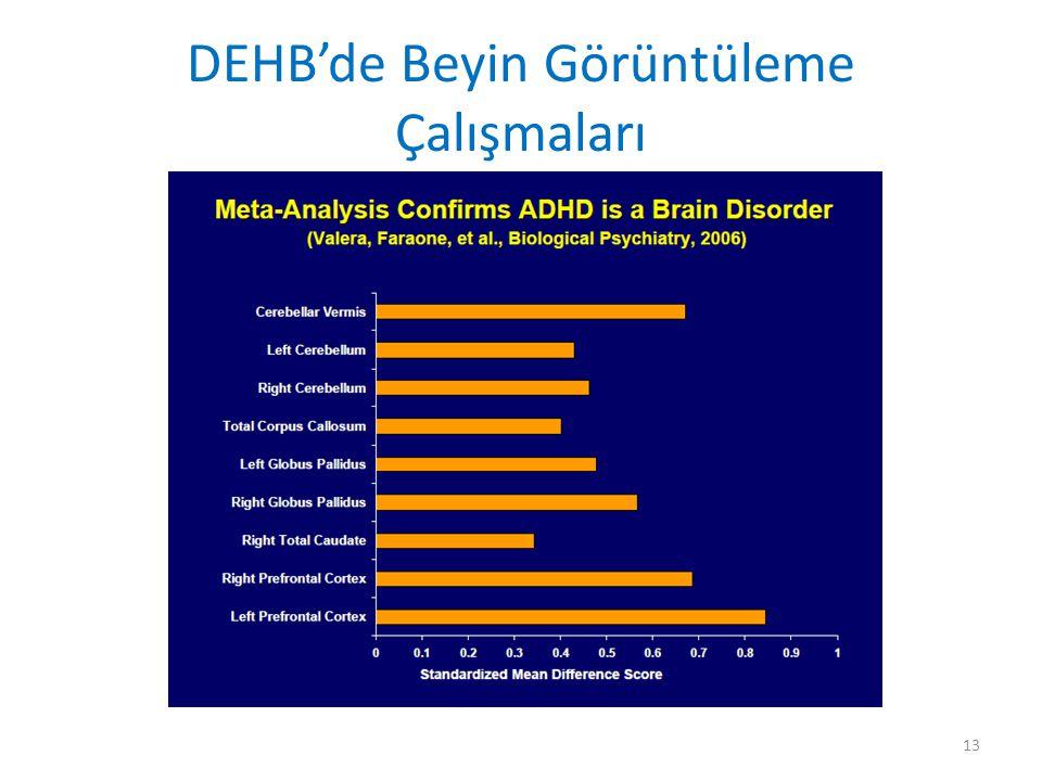 DEHB'de Beyin Görüntüleme Çalışmaları