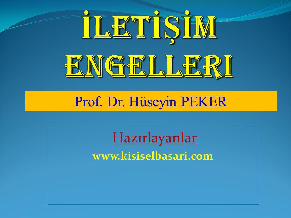 Hazırlayanlar www.kisiselbasari.com
