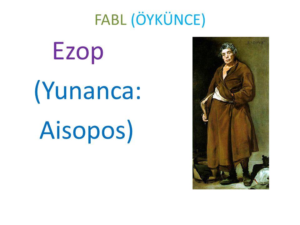 Ezop (Yunanca: Aisopos)