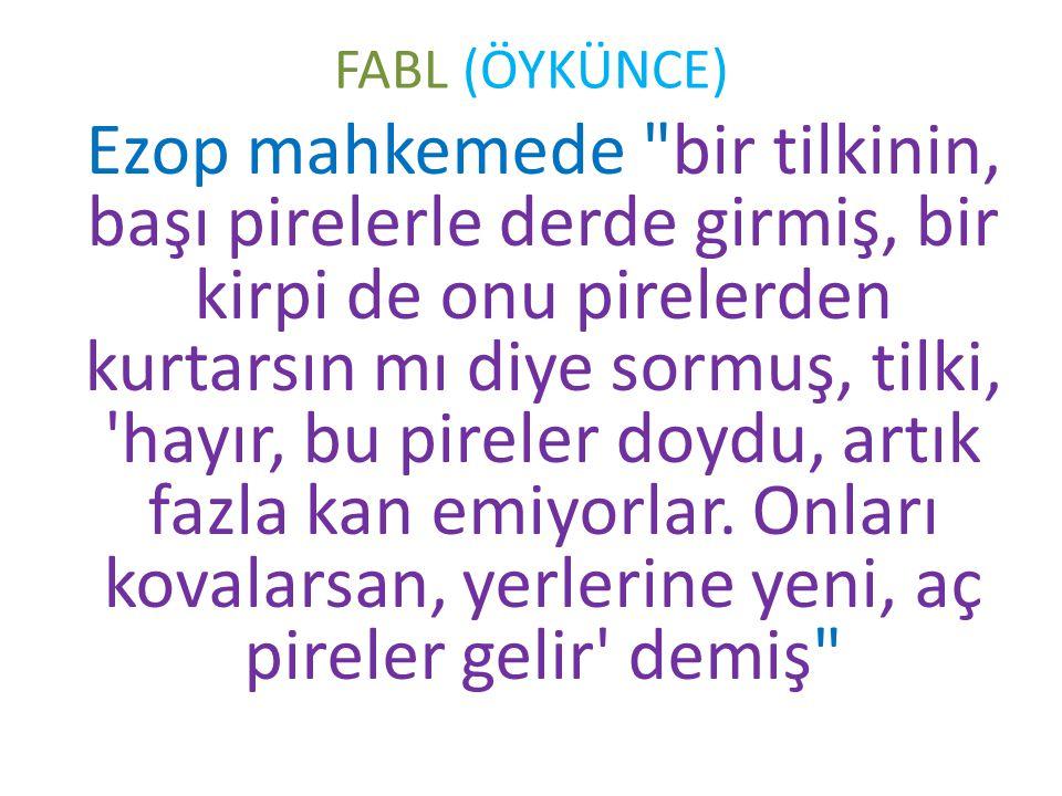 FABL (ÖYKÜNCE)
