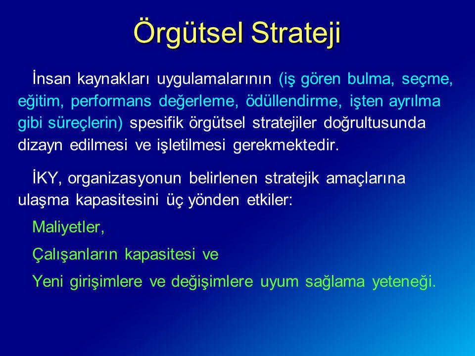 Örgütsel Strateji