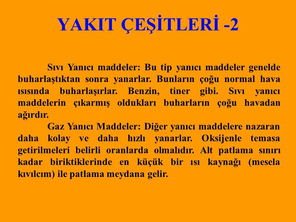 YAKIT ÇEŞİTLERİ -2