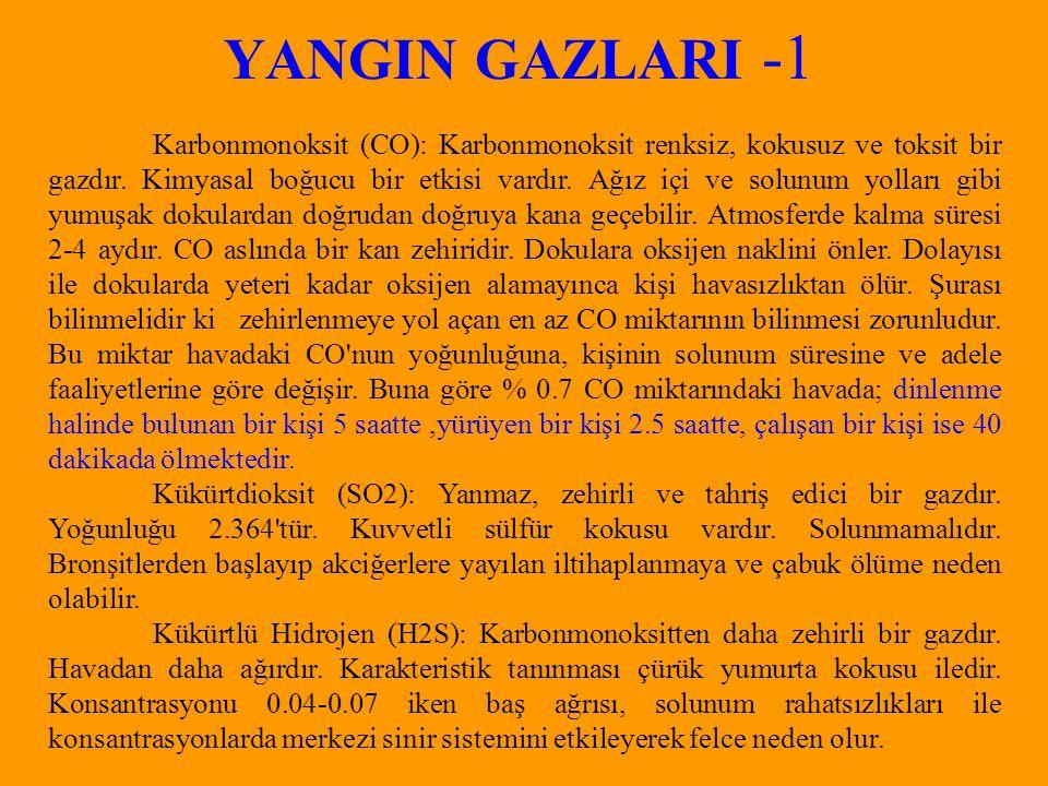YANGIN GAZLARI -1