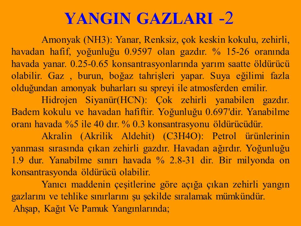 YANGIN GAZLARI -2