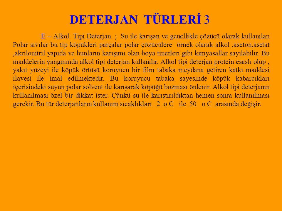 DETERJAN TÜRLERİ 3