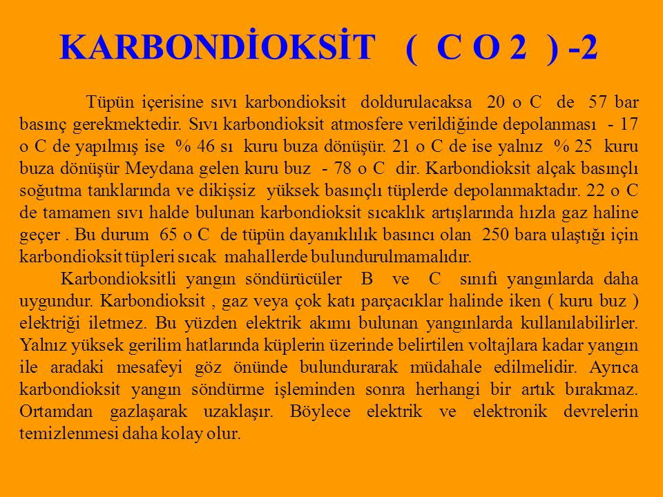 KARBONDİOKSİT ( C O 2 ) -2