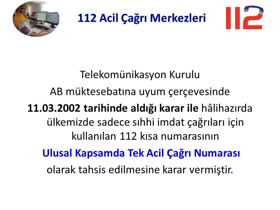 112 Acil Çağrı Merkezleri Telekomünikasyon Kurulu