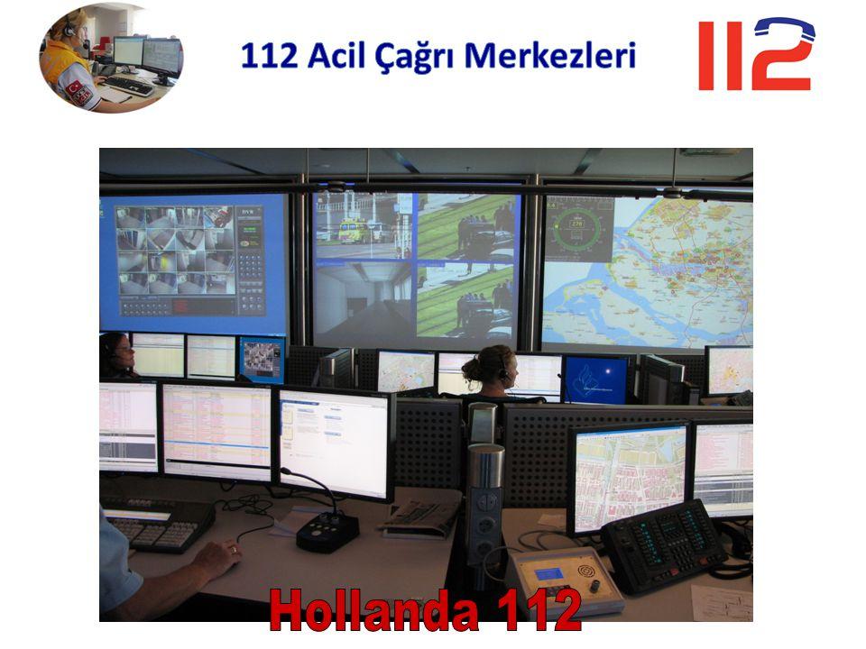 112 Acil Çağrı Merkezleri Hollanda 112