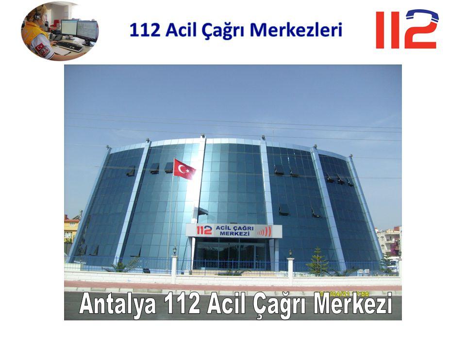 Antalya 112 Acil Çağrı Merkezi