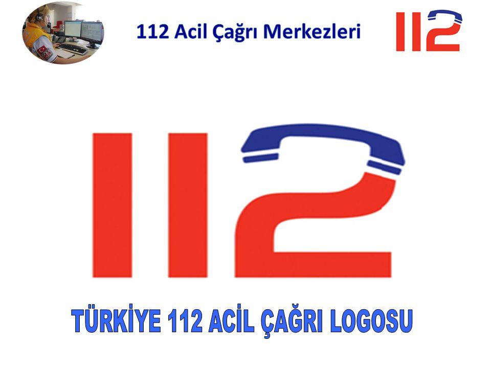 TÜRKİYE 112 ACİL ÇAĞRI LOGOSU