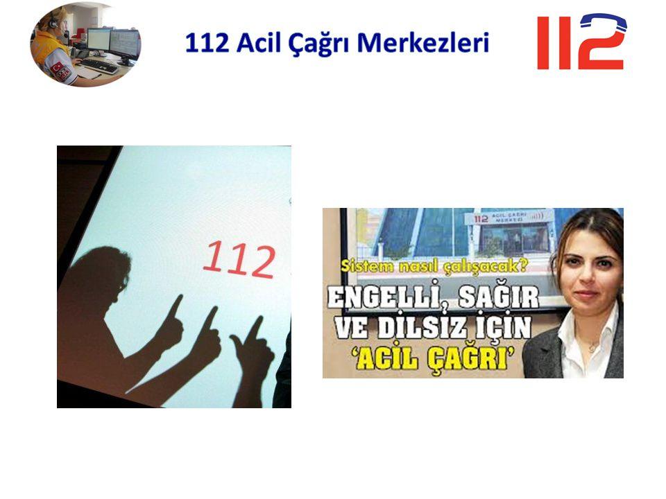 112 Acil Çağrı Merkezleri