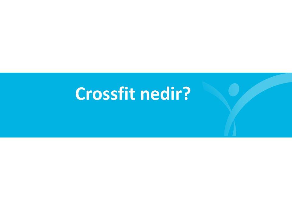 Crossfit nedir