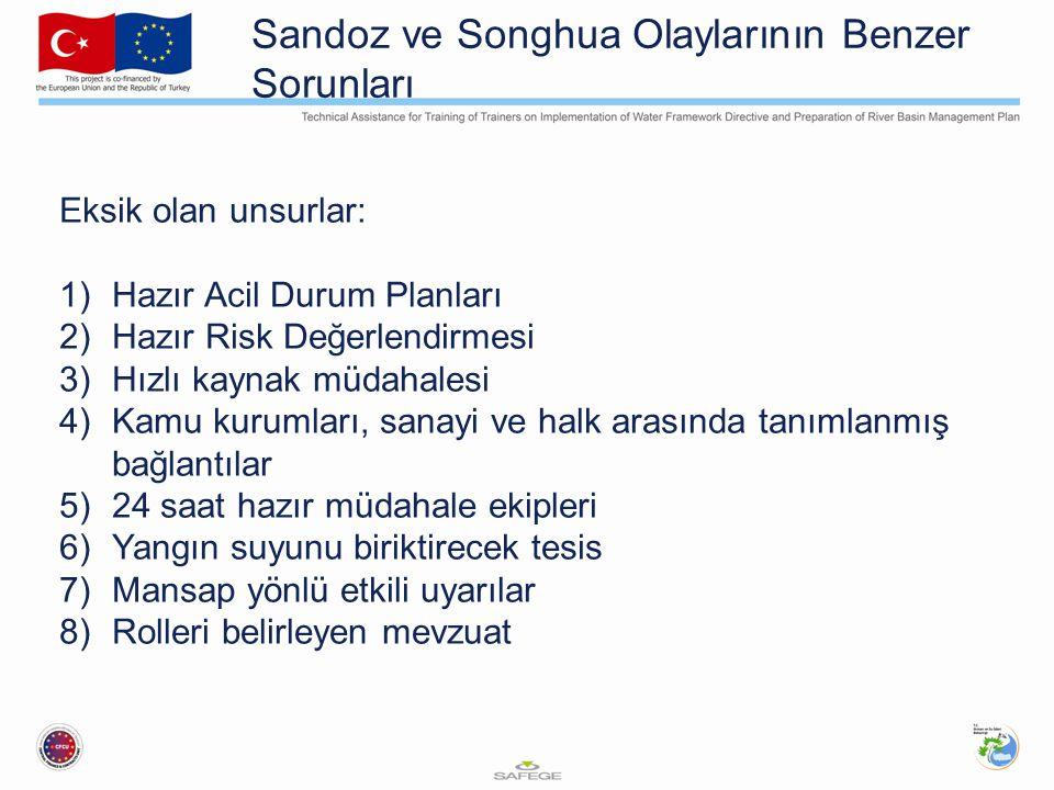 Sandoz ve Songhua Olaylarının Benzer Sorunları