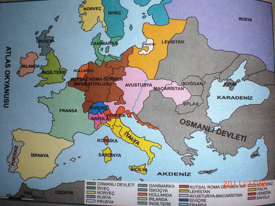 Avrupa'da Düşünce ve Ekonomi Alanındaki Gelişmeler