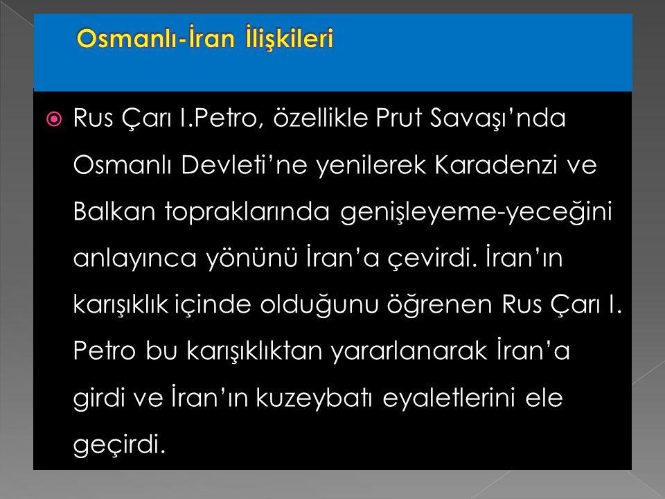 Osmanlı-İran İlişkileri