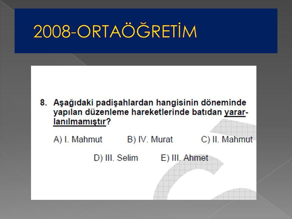 2008-ORTAÖĞRETİM