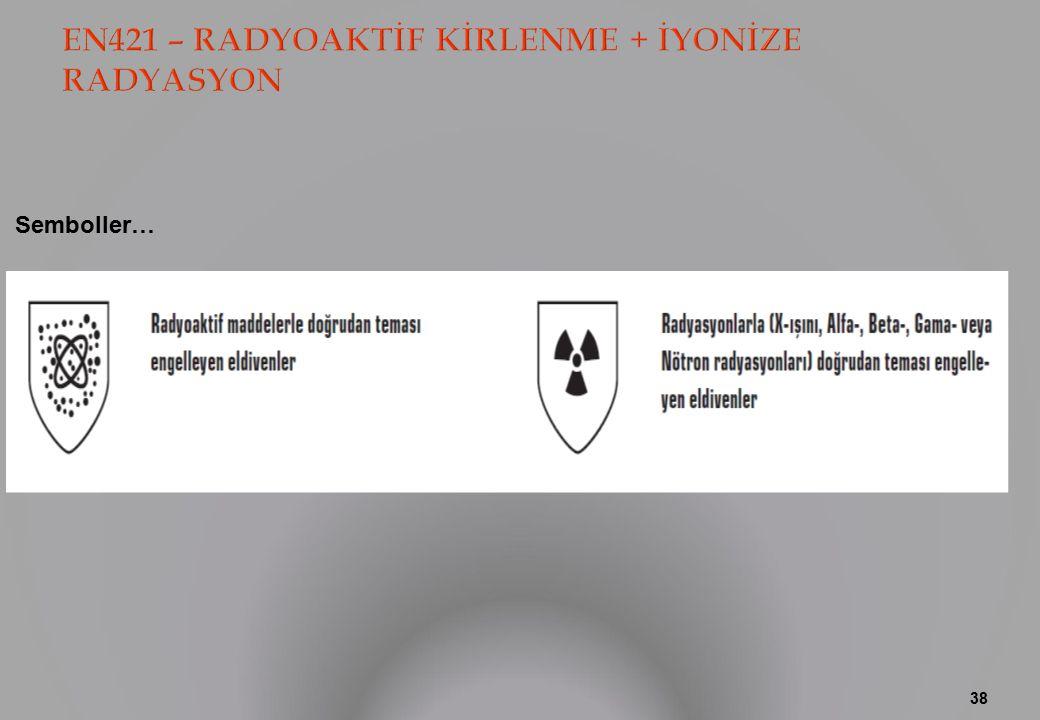EN421 – RADYOAKTİF KİRLENME + İYONİZE RADYASYON
