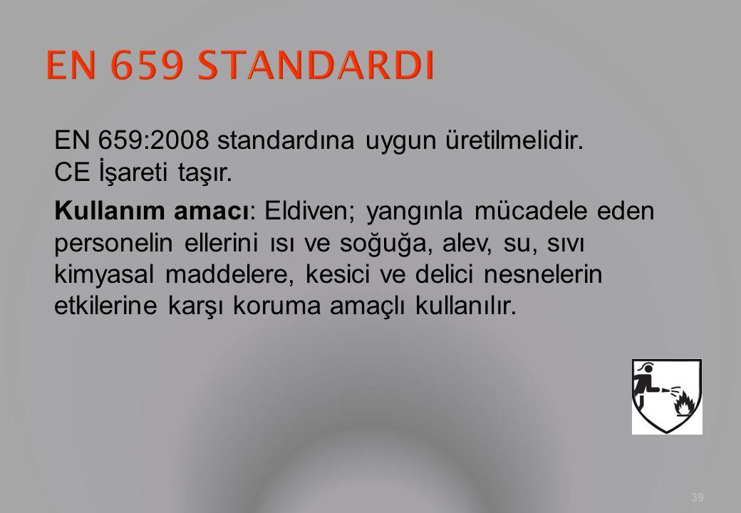 EN 659 STANDARDI