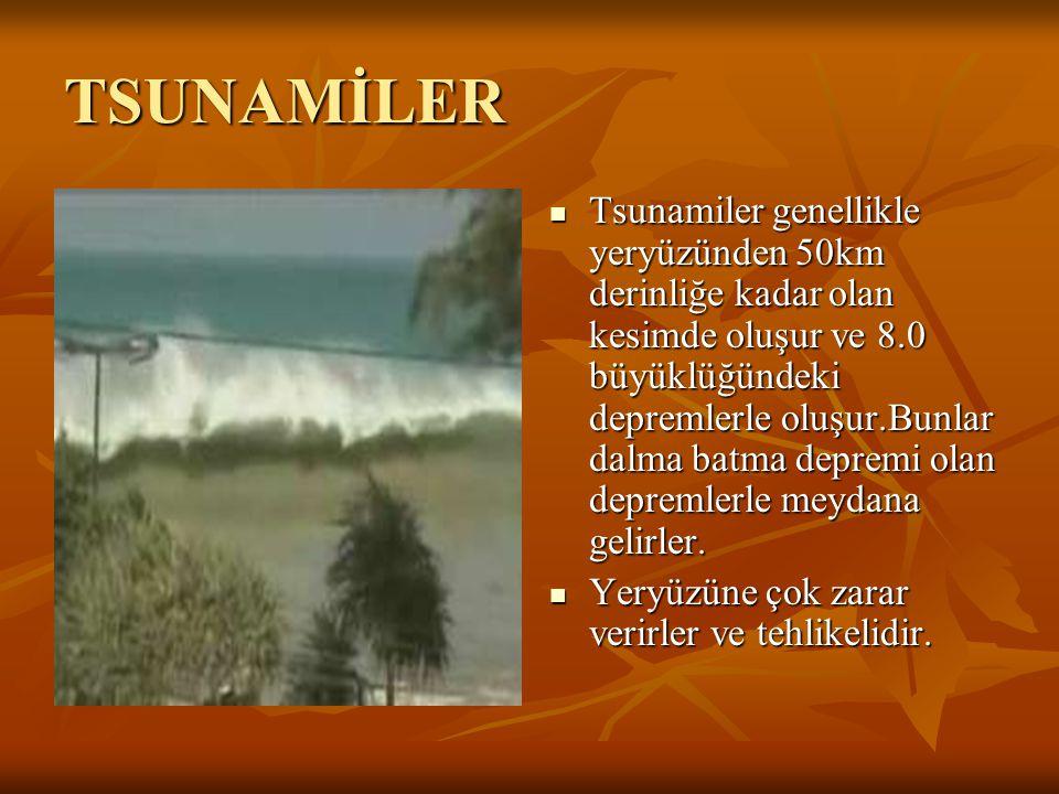 TSUNAMİLER