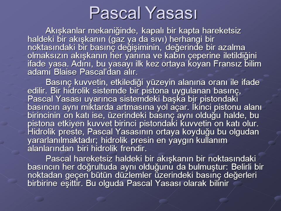 Pascal Yasası