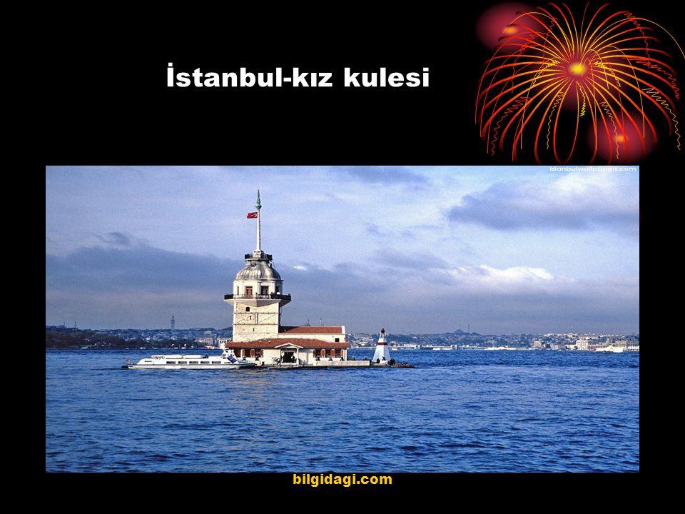 İstanbul-kız kulesi bilgidagi.com