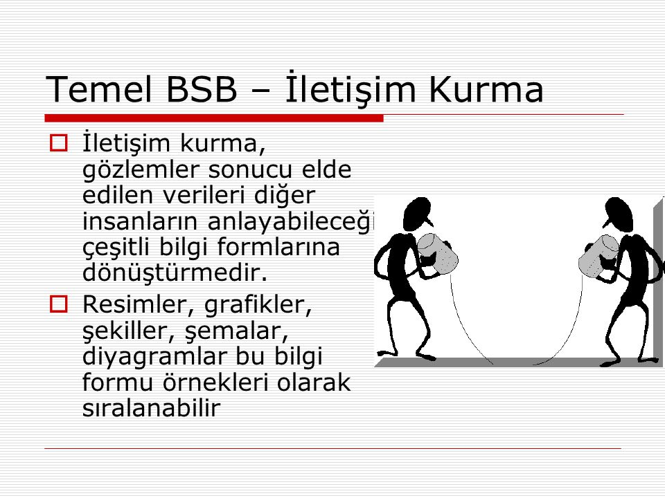 Temel BSB – İletişim Kurma