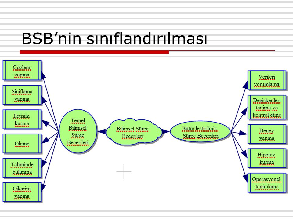 BSB'nin sınıflandırılması
