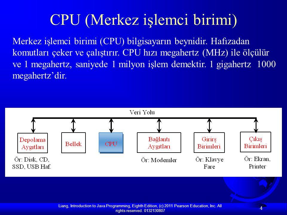 CPU (Merkez işlemci birimi)