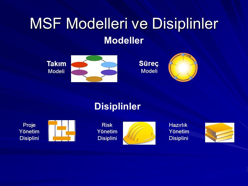 MSF Modelleri ve Disiplinler