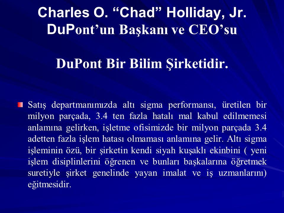 Charles O. Chad Holliday, Jr