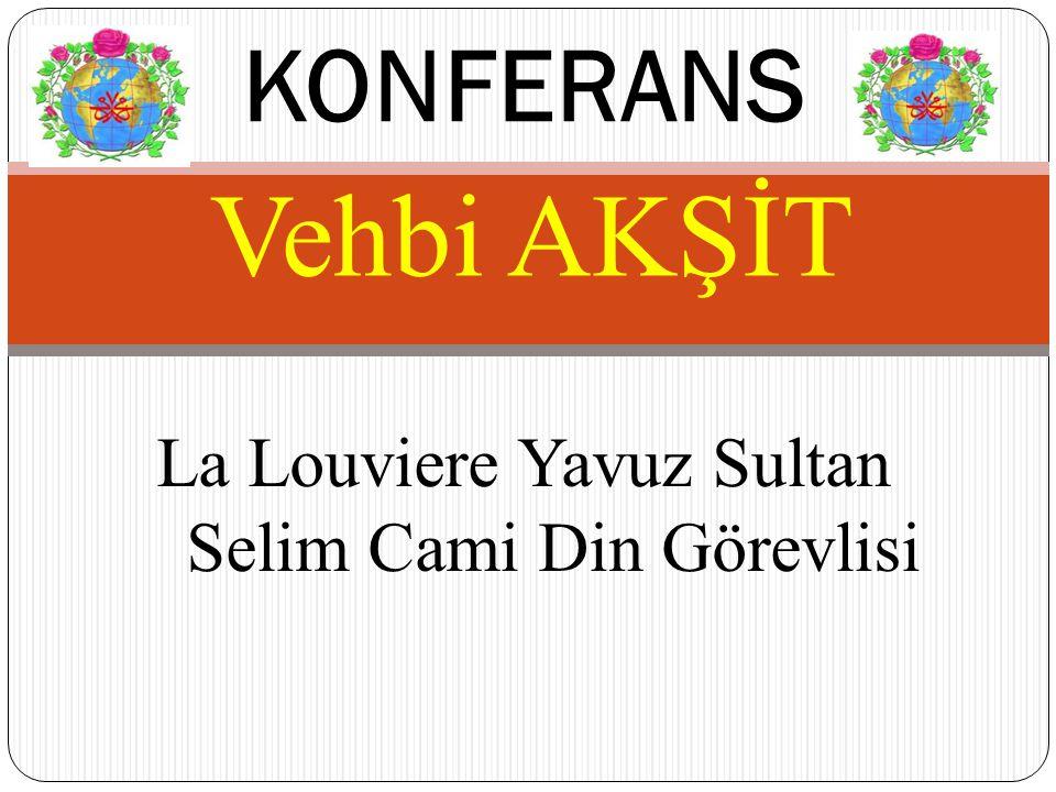 La Louviere Yavuz Sultan Selim Cami Din Görevlisi