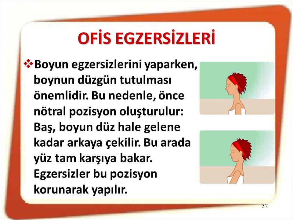 OFİS EGZERSİZLERİ