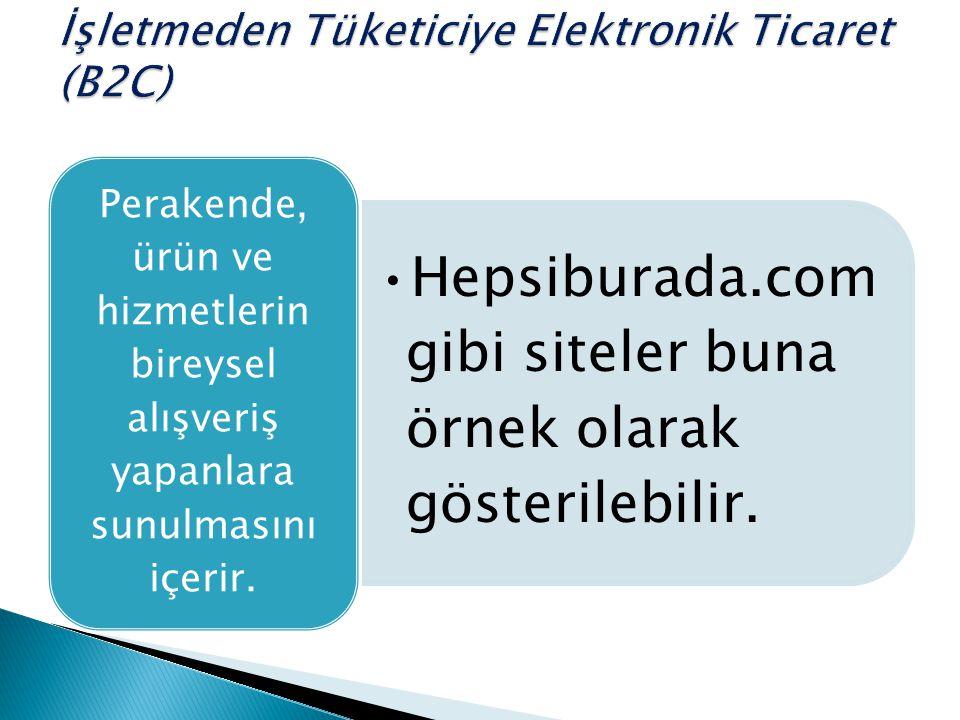 İşletmeden Tüketiciye Elektronik Ticaret (B2C)