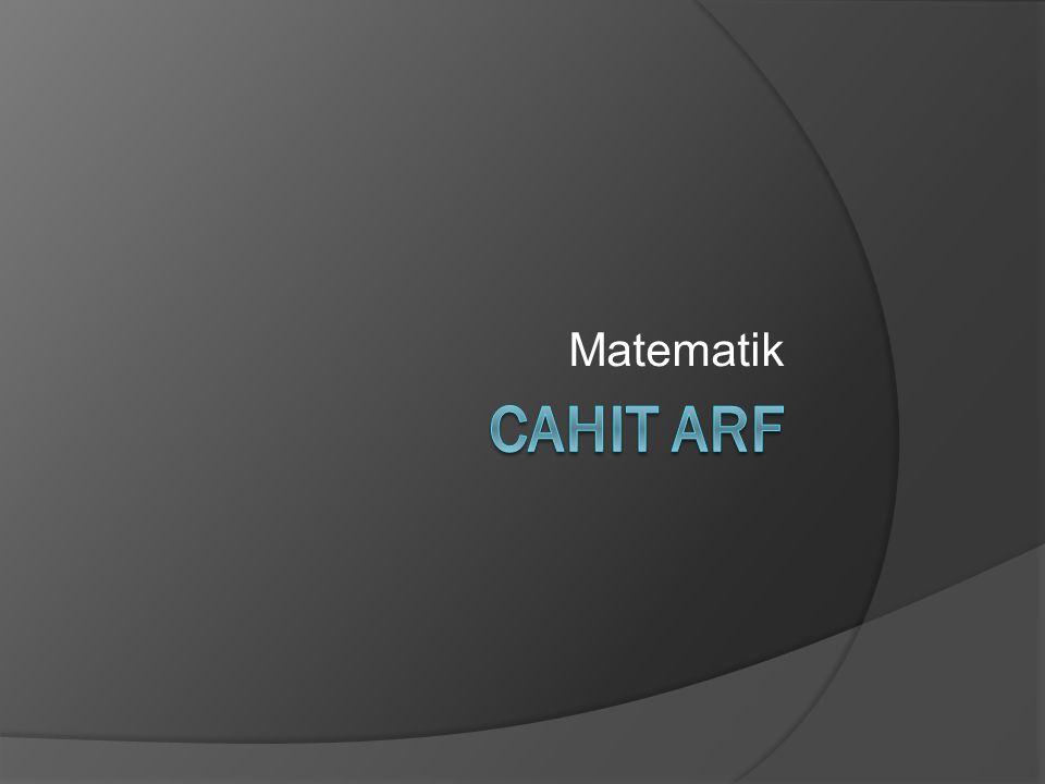 Matematik Cahit arf
